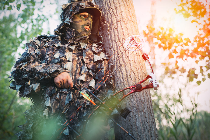 PICK AN IDEAL HUNTING SPOT