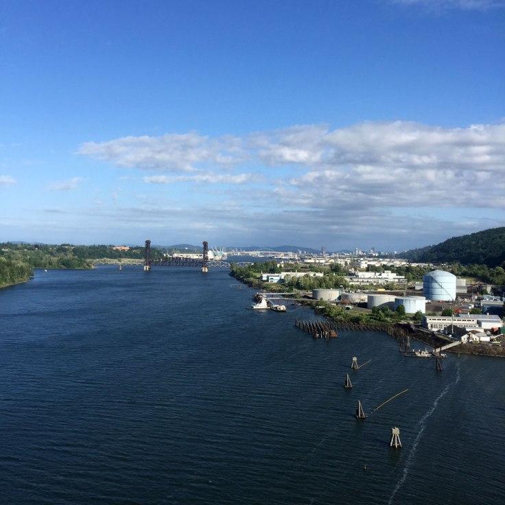 Portland from St Johns Bridge