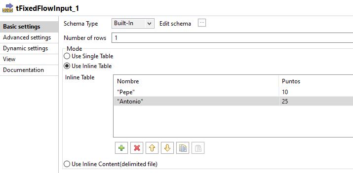 Entrada manual de datos