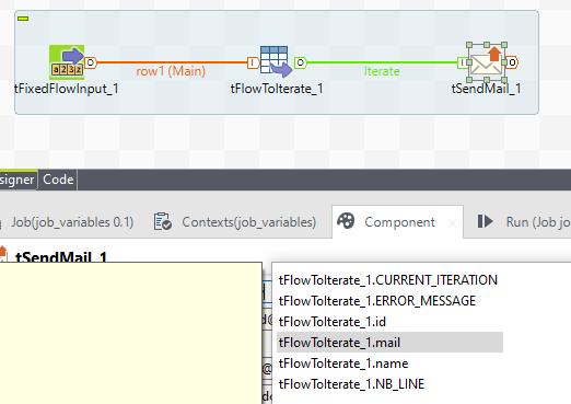 Ejemplo de selección variables