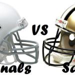 Cardinals vs Saints week 1