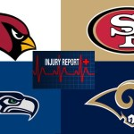 NFC West injury list