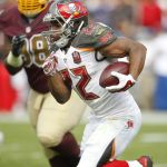 Doug Martin:100 yards rushing for the 3rd time in a row