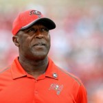 Lovie Smith believes the Bucs should be in the playoffs next year.