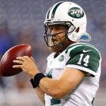 Fitzpatrick, signs one year contract with the Jets.