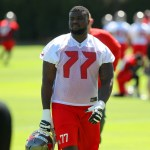 Bucs to turn to the rookie at left guard