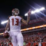 Mike Evans leads the league in receiver rankings.