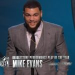 MikeEvans Bridgestone Performance Play of the Year