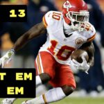 NFL: Fantasy Football Week Thirteen Start 'Em 'n' Sit 'Em