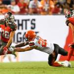 Three Buccaneers ruled out for Sunday's game