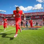 Mike Evans out with hamstring injury