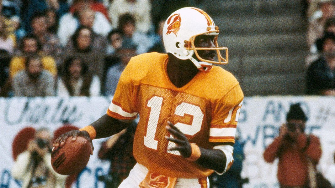 Doug Williams led the Bucs to three playoff appearances from 1978 to 1982. Tampa had 12 consecutive seasons of double-digit losses after his departure. Pete Leabo/AP Photo