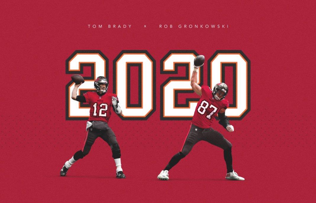 Brady and Gronkowski/via Tampa Bay Buccaneers