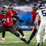 Buccaneers' Marpet Ruled Out vs. Carolina