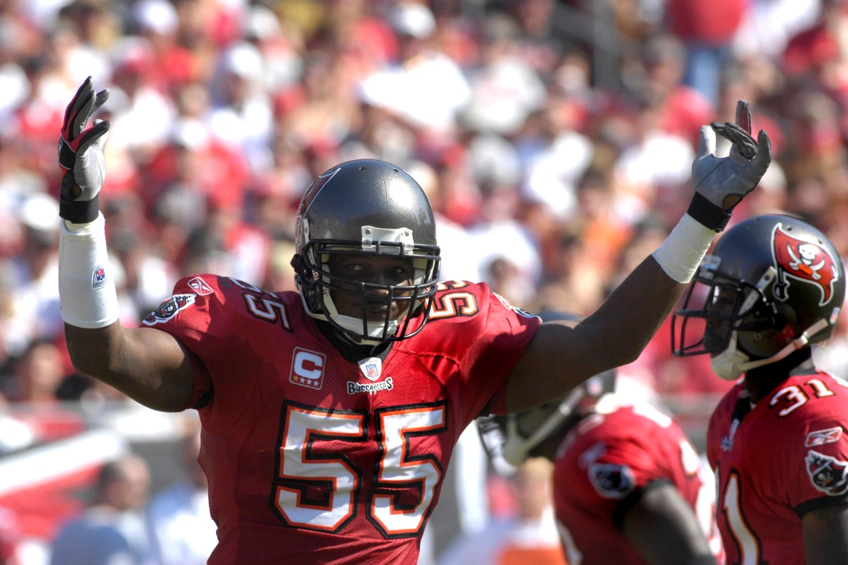Hall of Famer Derrick Brooks selected to the NFL 100 All-Time Team
