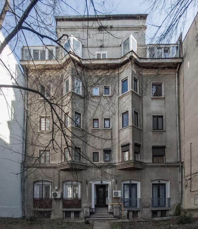 Imobil Art Deco pe strada Nicolae Golescu