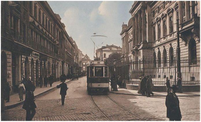 Strada Lipscani 1916