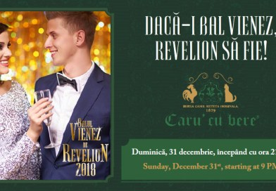 Balul Vienez 2018 de Revelion la Bucuresti la Caru' cu Bere