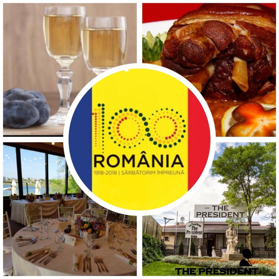 Sarbatoreste 100 de ani de Romania la The President