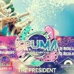 Spuma Party la The President