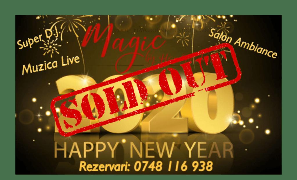 Super Music New Year Party 2020 la Magic Ballroom by Hop Garden