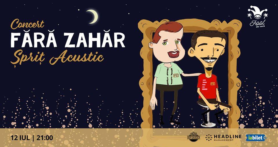 Concert FĂRĂ ZAHĂR - Şpriţ Acustic la Hop Garden