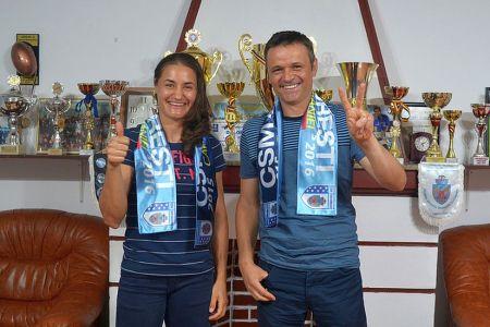 Monica Niculescu a semnat cu CSM Bucuresti! Va reprezenta Bucurestiul la JO de la RIO!