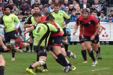 Echipa de rugby CSM Olimpia Bucuresti a pierdut cu 24 la 10 meciul cu U Cluj!