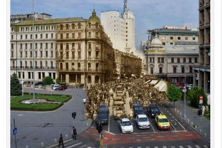 FOTO – Cum arata 80 de ani din istoria Bucurestiului intr-o singura imagine!