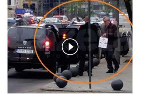 VIDEO – Tariceanu a BLOCAT CIRCULATIA in centrul Bucurestiului pentru a-si face cumparaturile!