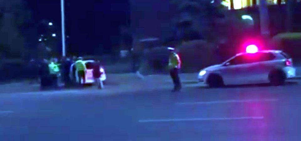 VIDEO – O soferita a intrat cu masina in gardul Guvernului! Neintentionat…