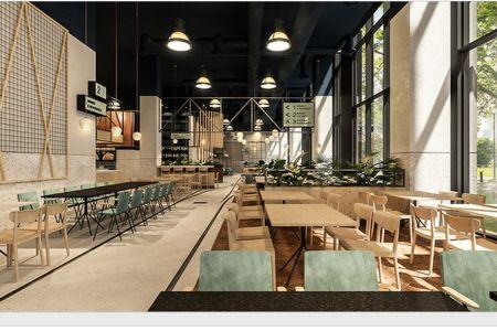 Se deschide CEL MAI MARE restaurant din Bucuresti aflat intr-o cladire de birouri!