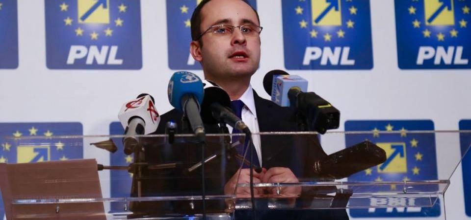 PNL Bucuresti il sustine pe Cristian Busoi la presedintia partidului