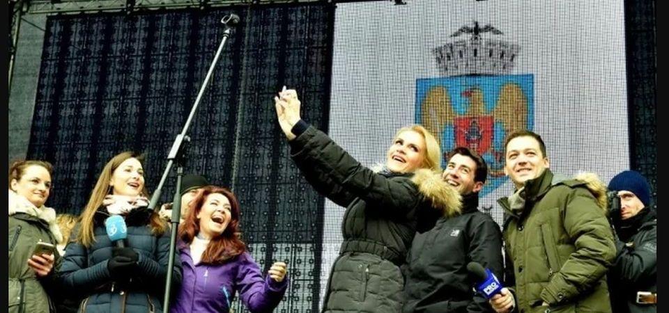 Gabriela Firea a cheltuit 20 de milioane de euro pe concerte si petreceri, numai in primele trei luni ale anului!