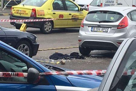 Cine este ofiterul SPP care s-a impuscat ieri pe o strada din Bucuresti? Trecuse testul psihologic si lasa in urma un copil de 9 ani!