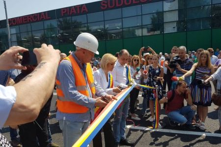 VIDEO – Gabriela Firea a inaugurat pasajul Piata Sudului. Lucrarile nu sunt complet finalizate si constructorul cere 60% bani in plus!