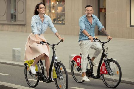 Centru nou de inchiriat biciclete, in Parcul Titan!