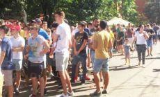 Mii de bucuresteni la coada pentru a prinde bilete la meciul FCSB cu Sporting Lisabona!