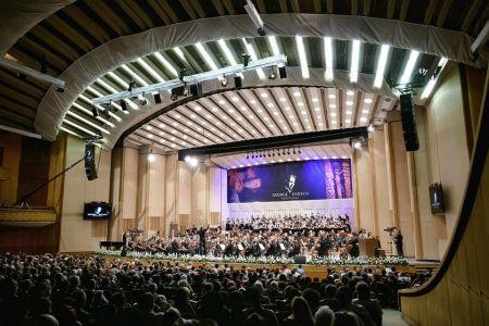 Royal Philharmonic Orchestra şi Frank Peter Zimmermann concerteaza in aceasta seara la Sala Palatului