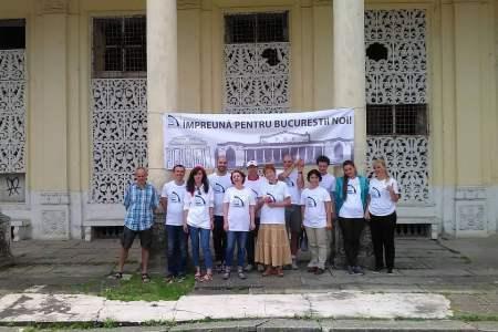 Zeci de bucureșteni lupta pentru reabilitarea Teatrului de Vara din Parcul Bazilescu