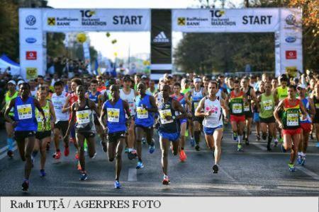 Un atlet kenyan a castigat Maratonul Bucuresti