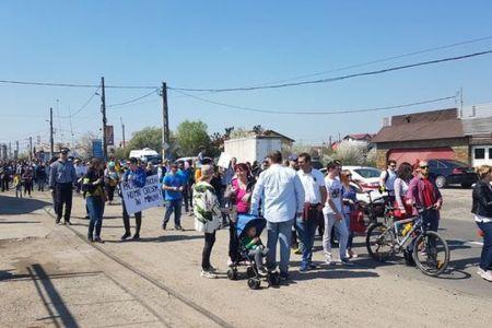 Inca un protest de strada fata de infrastructura dezastruoasa in Prelungire Ghencea! Gabriela Firea raspunde cu promisiuni!