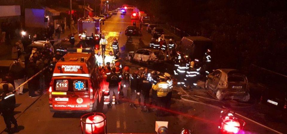 Barbatul care a provocat accidentul teribil de marti seara a fost arestat