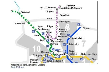 Metrorex anunta lansarea licitatiei pentru linia de metrou pana in Otopeni: 1,3 miliarde de euro!