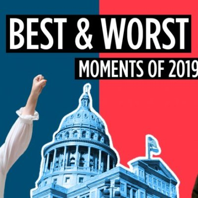 Rep. Bucy at center of Progress Texas Best Moments of 2019