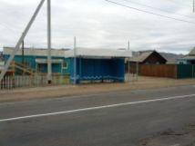 Автобусная остановка в Саратовке