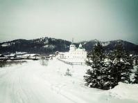 Батуринский монастырь по дороге на Байкал