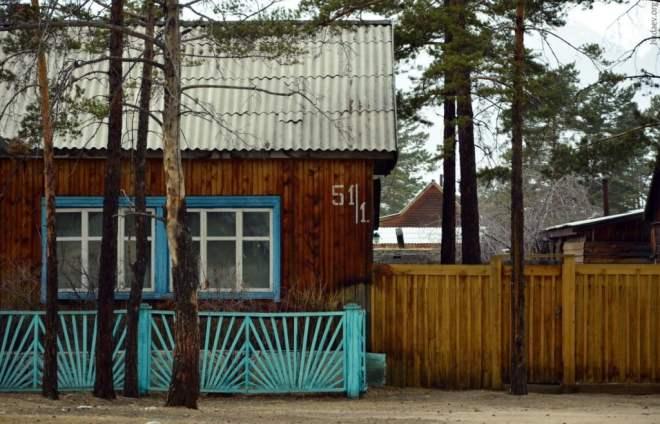 Курумкан. Двухквартирный дом