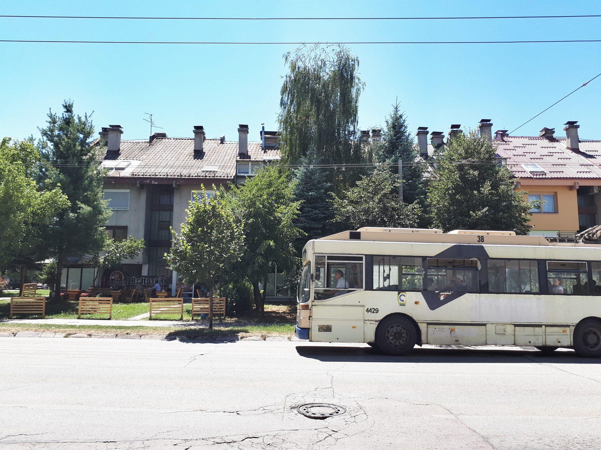 Bus, Sarajevo