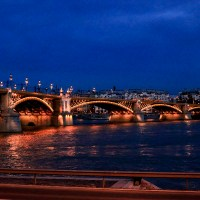 Margit Bridge by night